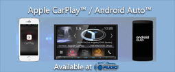 Apple CarPlay and Android Auto available at Awesome Audio